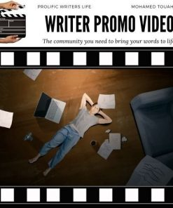 Writer Promo Video Prolific Writers Life Mohamed Touahria Animation